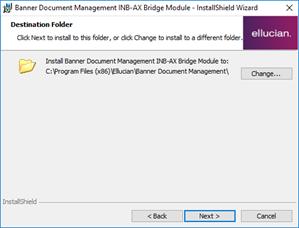 ApplicationXtender - Version 7 Installation - Banner Instance (SFAS
