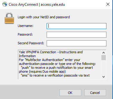 Anyconnect vpn client
