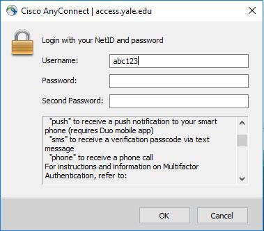 MFA: Login via CAS, VPN Browser & Cisco AnyConnect VPN - SOM IT